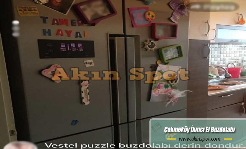 Çekmeköy İkinci El Buzdolabı